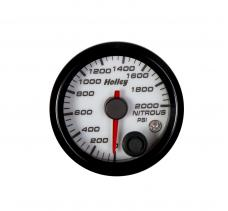 Holley Analog Style Nitrous Pressure Gauge 26-609W