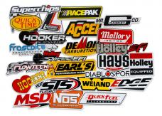 Holley Go Fast Sticker Pack 36-462