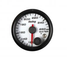 Holley Analog Style Water Temperature Gauge 26-602W