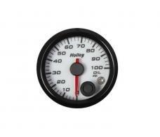 Holley Analog Style Oil Pressure Gauge 26-601W