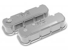 Holley M/T Retro Aluminum Valve Covers 241-151
