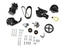 Holley Accessory Drive Kit 20-137BK