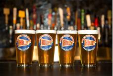 Holley Logo Pub Glass 36-431