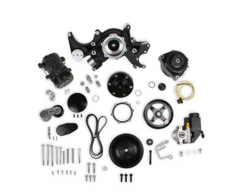 Holley Mid-Mount Complete Accessory Drive System 20-242BK
