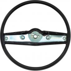 OER 1969-70 Steering Wheel - Black - Standard Interior 3939731