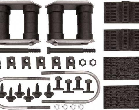 OER 1970-81 GM Multi-Leaf Rear Leaf Spring Installation Set - Various Models R362