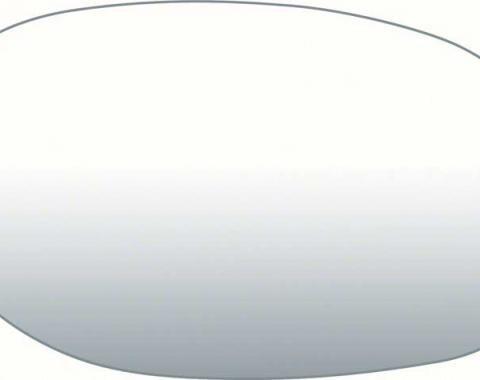 OER 1970-81 Bullet Mirror Glass 5.4 X 3.2, RH 9683156