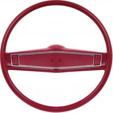 OER 1969-70 Steering Wheel Kit - Red - Standard Interior *R3494