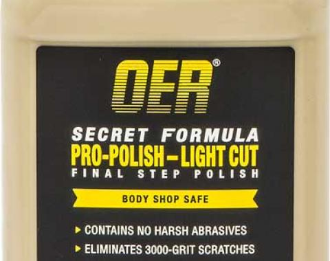 OER Secret Formula Pro-Polish 12 Oz Light Cut Final Step Polish K89607