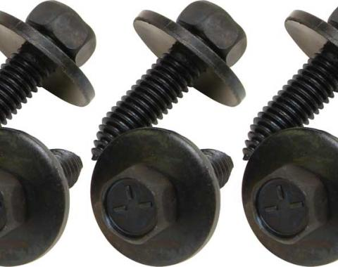 OER 1967-81 Rear Spring Eye Bracket Bolt Set (6 piece) *K3614