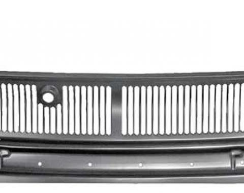 Nova And Chevy II Cowl Grille Panel, 1966-1967