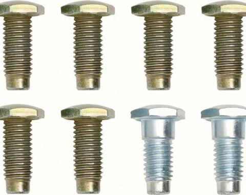 OER 1967-72 Without Shoulder Belt 8 Piece Seat Belt Bolt Kit *R559