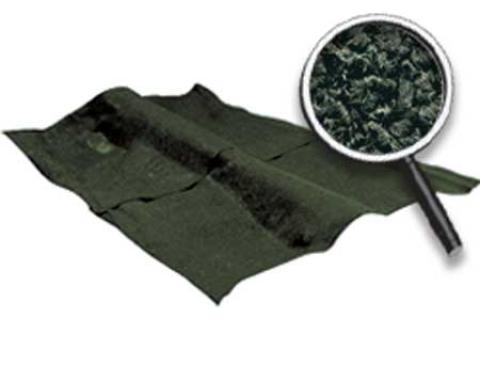 OER 1968-79 Nova 2 Or 4 Door Without Console Dark Green Loop Carpet Set With Mass Backing NC68731213