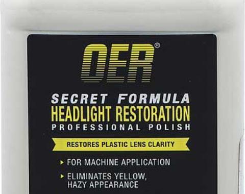 OER Secret Formula Headlight Restorer Professional Polish 12 Oz. K89628
