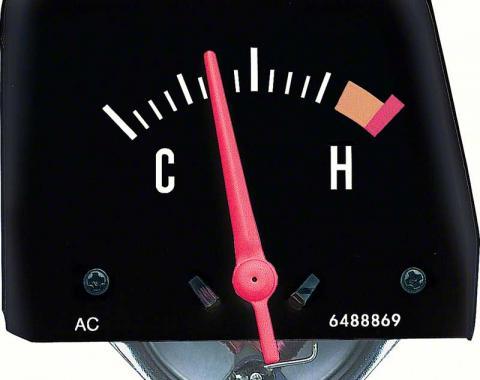 OER 1968-76 Black Console Temperature Gauge 6489896