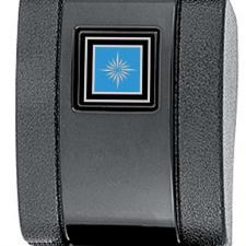 OER 1968-72, Seat Belt Buckle Cover, Standard Interior, with Silver/Blue Starburst Emblem 154663BL