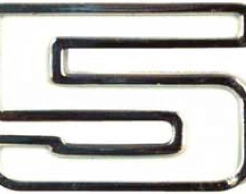 """OER 1970-74 Nova """"350"""" Front Fender Emblem 3970546"""