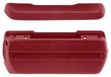 OER 1968-72 Standard Red Front Arm Rest Kit *R4902
