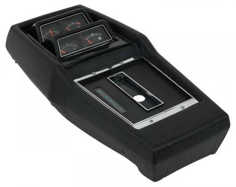 OER 1968-72 Chevy II Nova, Console Assembly, AT, Powerglide, with Console Gauges R687202
