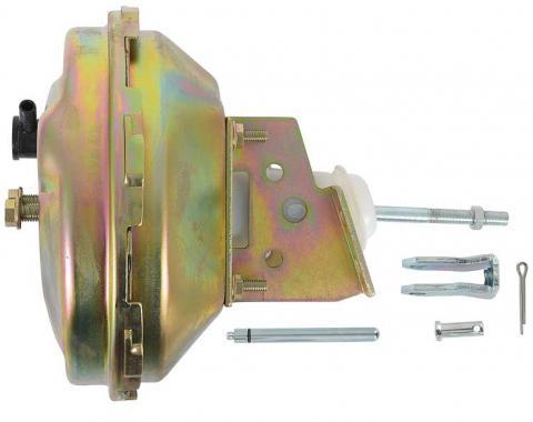 """OER 1967-74 9"""" Power Brake Booster, Single Diaphragm, GM Delco Style, Zinc PB1086A"""