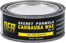 OER Secret Formula No. 47 Premium Hard Carnauba Paste Wax - 7 Oz. Can K89440