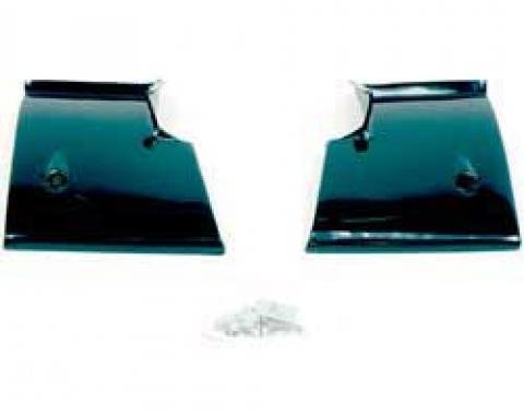 OER 1968-72 Nova Rear Window Lower Corner Moldings-Pair K916