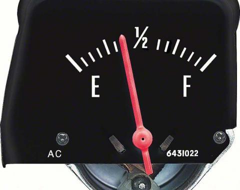 OER 1968-76 Black Console Fuel Gauge 6431582