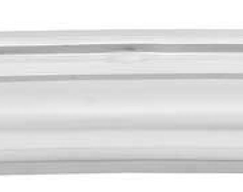 OER 1968-72 Chevy II / Nova, Rear Upper Deck Filler Panel, Silver Weld-Thru Coating 14637W