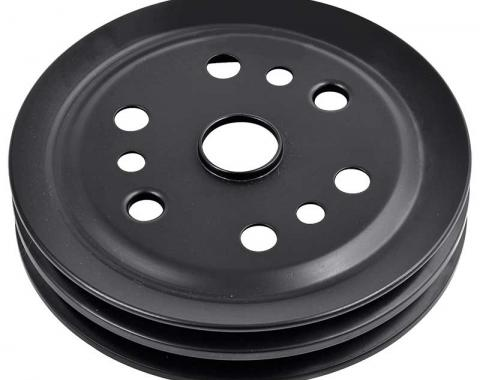 "OER 1963-72 Chevrolet Small Block Short Water Pump Double Groove 6-3/4""OD Crankshaft Pulley 3744043"