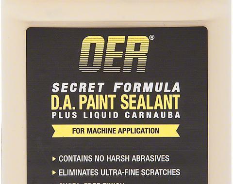 OER Secret Formula 12 Oz DA Paint Sealant Plus Carnauba K89601