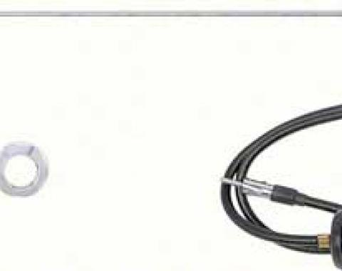 OER 1968-69 AM/FM Non-Telescoping Fixed Mast Radio Antenna Kit *ANT3