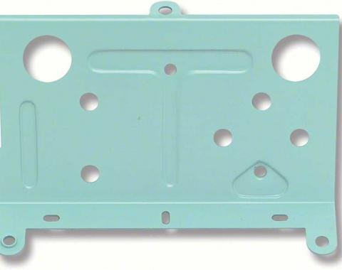 OER 1968-74 Console Rear Battery/Temperature Gauge Mounting Plate 6480877