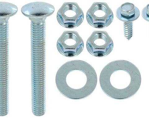 OER 1967-69 Camaro/Firebird, 1968-72 Nova 10 Piece Fuel Tank Strap Mounting Bolt Kit K561