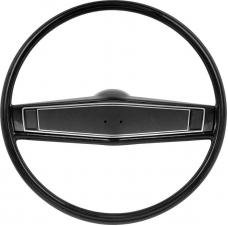 OER 1969-70 Steering Wheel Kit - Black - Black Steering Wheel Shroud *R3492