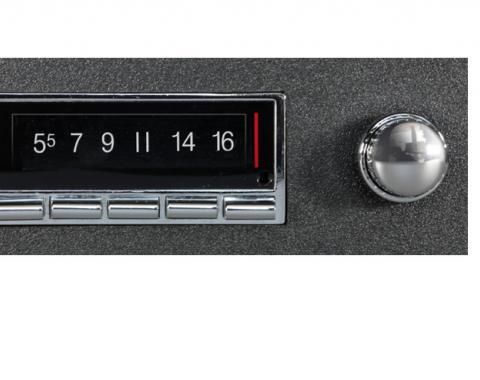 Custom Autosound 1968-1976 Chevrolet Nova USA-740 Radio